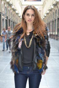furry vest wholesale brand miss terre